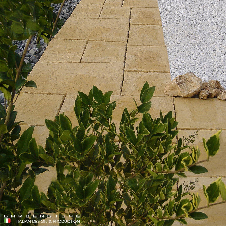 Pavimento da giardino esterno