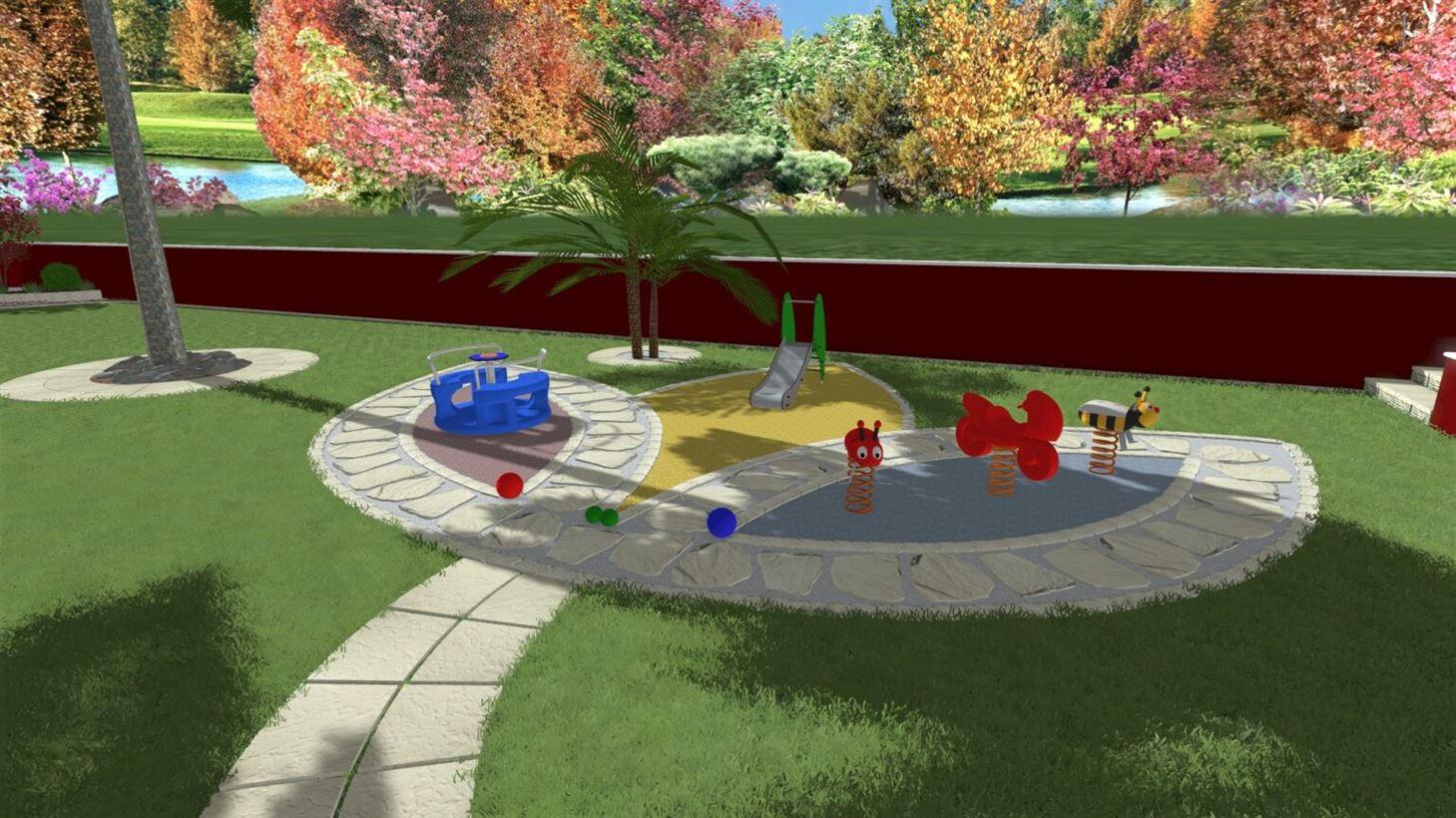 Area gioco giardino
