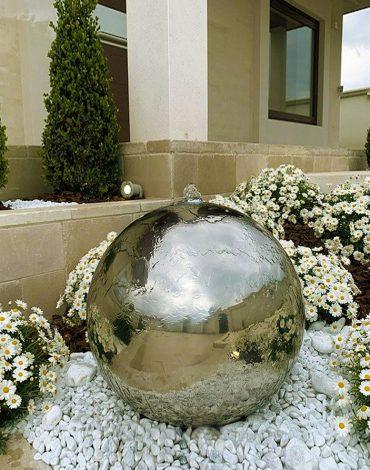 Water Ball con i suoi pezzi speciali: Kit controllo Livello acqua e Water Ball Kit